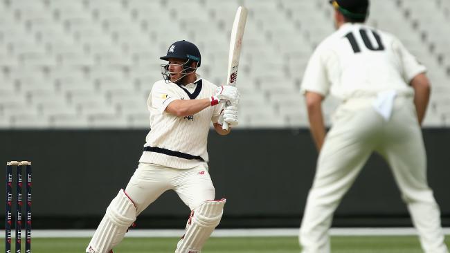 Aaron Finch has blasted an incredible unbeaten innings