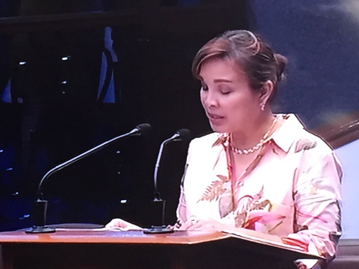 Senate Committee On Foreign Relations Chair Sen Loren Legarda