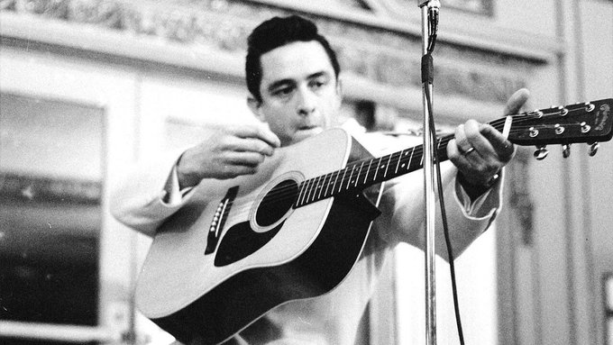 Happy birthday to the Man in Black, Mr. Johnny Cash. He would\ve been 86 today.