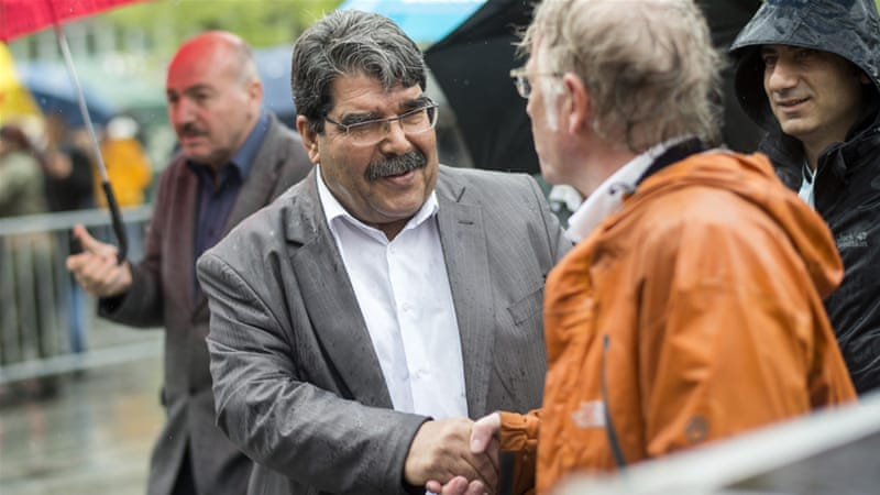 Turkey requests extradition of Kurdish ex-leader Salih Muslim