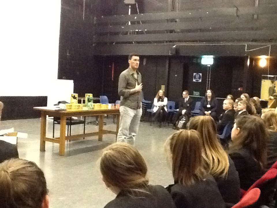 test Twitter Media - Brilliant hour spent with @joecraiguk on Friday. Had our Yr 8 students in the palm of his hand with his fantastic story.  Fooled me as well! https://t.co/NiaX71gjMM