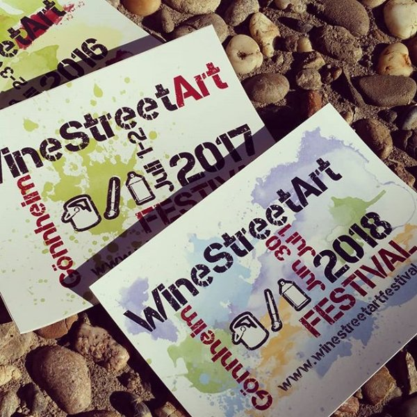 test Twitter Media - The new stickers for the 2018 #StreetArt #festival are available now. #winestreetartfestival https://t.co/NceJHNnC2x