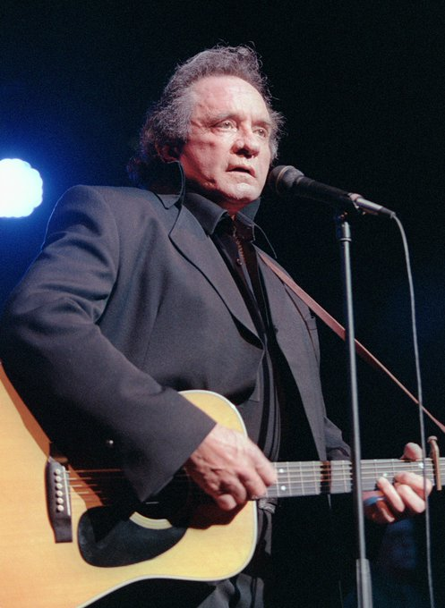 Bobbybonesshow: Happy Birthday Johnny Cash!  Drop your favorite Cash song