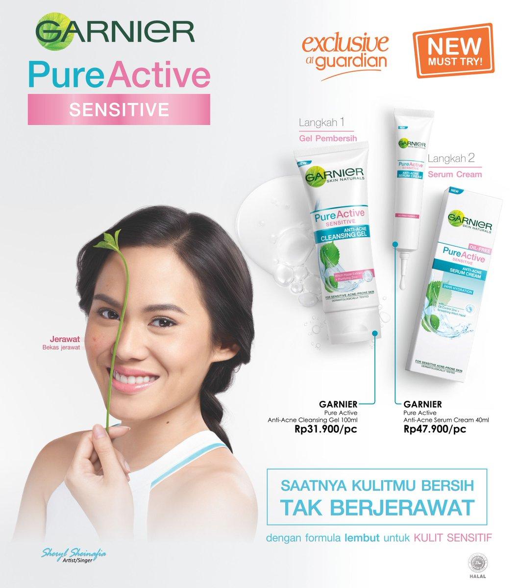 Baru Nih Di Guardian Garnier Pure Sensitive Skin Cocok Untuk Yang Active Anti Acne Cleansing Gel Foam 100 Ml Guardianangels Memiliki