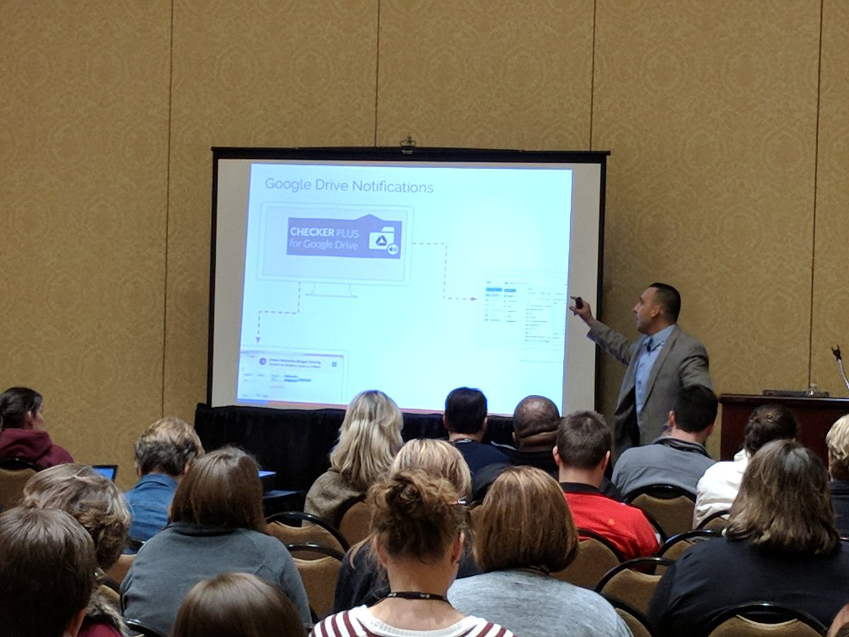 Checker Plus for Google Drive is a great way to see Drive notifications. @JPPrezz #METC18 https://t.co/hpVuF1vV5n