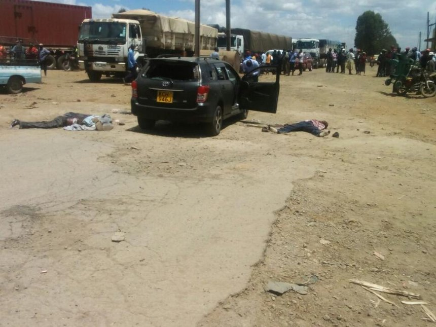 Seven suspected highway thugs killed in Nakuru, guns found