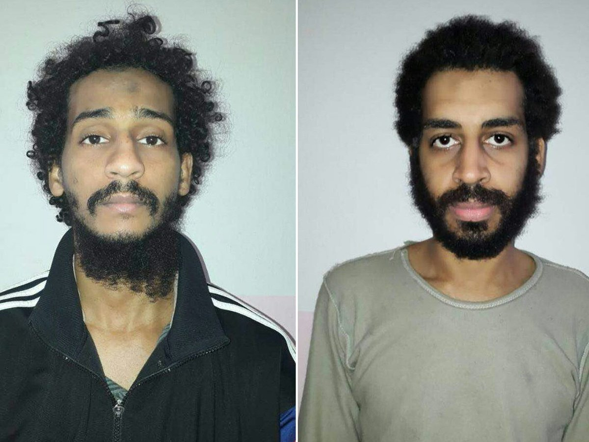 U.S. and U.K. divided over what to do with captured ISIL fighters, including U.K. nationals