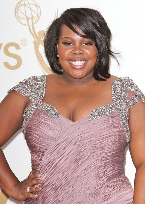 Happy birthday to amber riley for the 15th February