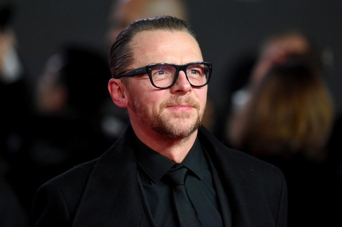 Happy birthday Simon Pegg! 48 today!