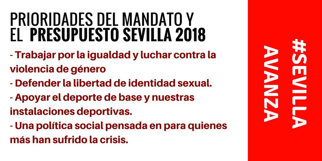 #SevillaAvanza https://t.co/kbtMmGPFqQ