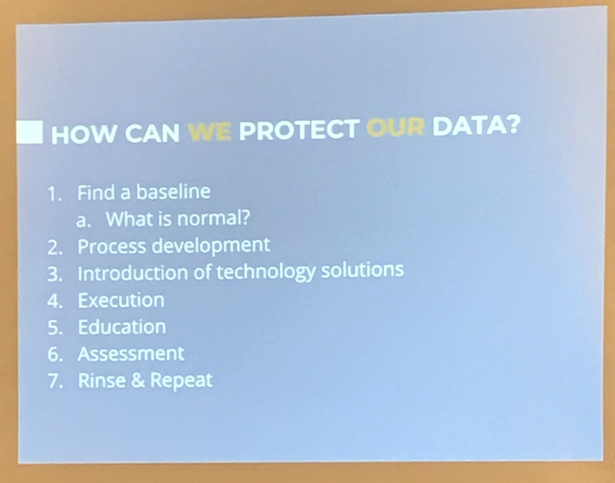 How can we protect data? #METC18 https://t.co/8X4yqlToGi