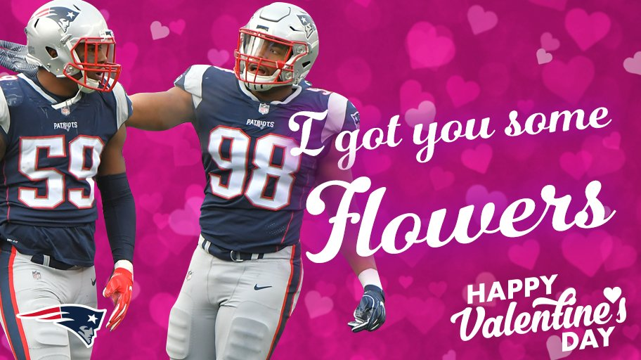 Nothing says #ValentinesDay like ������  More #Patriots Valentines: https://t.co/nIRzJDwovj https://t.co/fvLvARfice