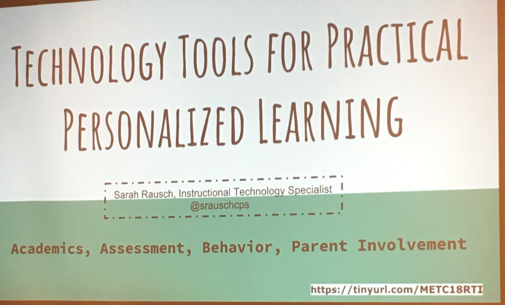 RT @M_Watermann: Great Tools @SRauschCPS #metc18 #edtech #cr6edtech https://t.co/2cbGdynpyW