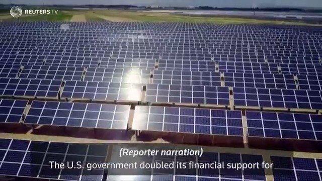 WATCH: Under Trump, U.S. agency doubles solar investments abroad @ReutersTV