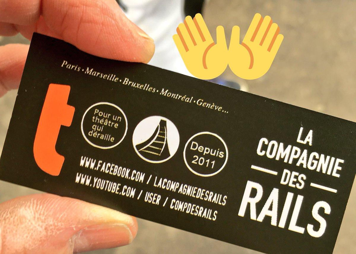 test Twitter Media - #SaintValentin2018 un événement organisé par la Sncf ligne J et Rer A. Théâtre avec la Compagnie des Rails #moliere 👍😊et distribution de ❤️chaufferettes avec @PROMEVIL_MED. 👍👍👍 https://t.co/N1iMeZXofw