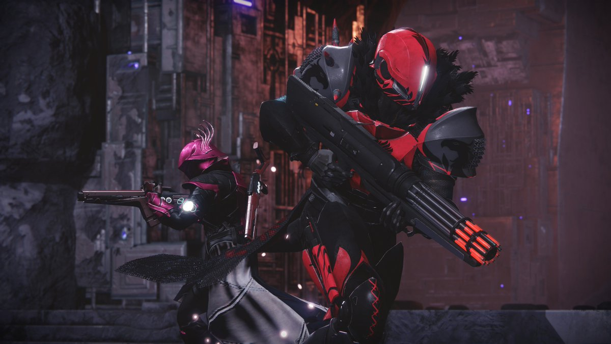 Let your partner know how much you need them...to help you take down foes in the Crimson Days 2v2 Crucible playlist. https://t.co/mrcFHjbost