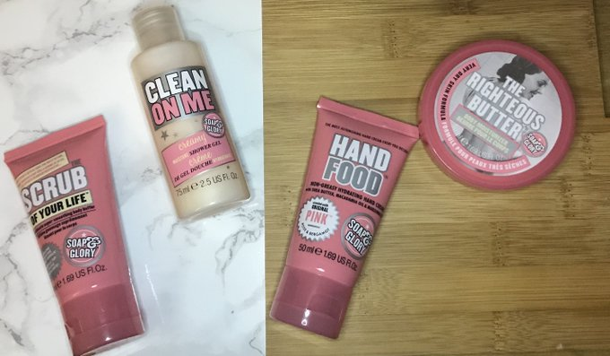 Soap & Glory Giveaway!