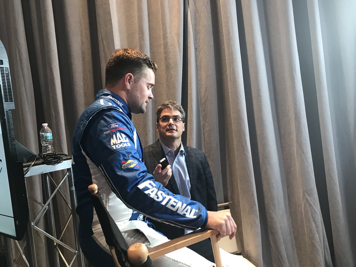 Want to see some cool behind the scenes stuff from #Daytona500 Media Day? Go follow us on Snapchat! 👻: rfrdriven https://t.co/Mm3AyJ35gq