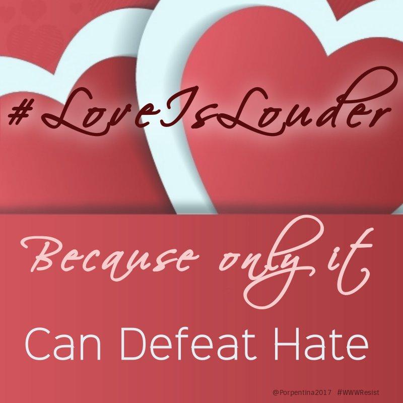 #LoveIsLouder