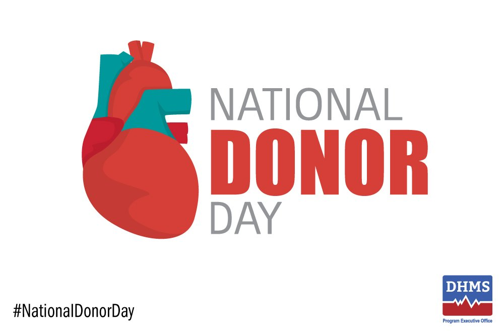 #NationalDonorDay