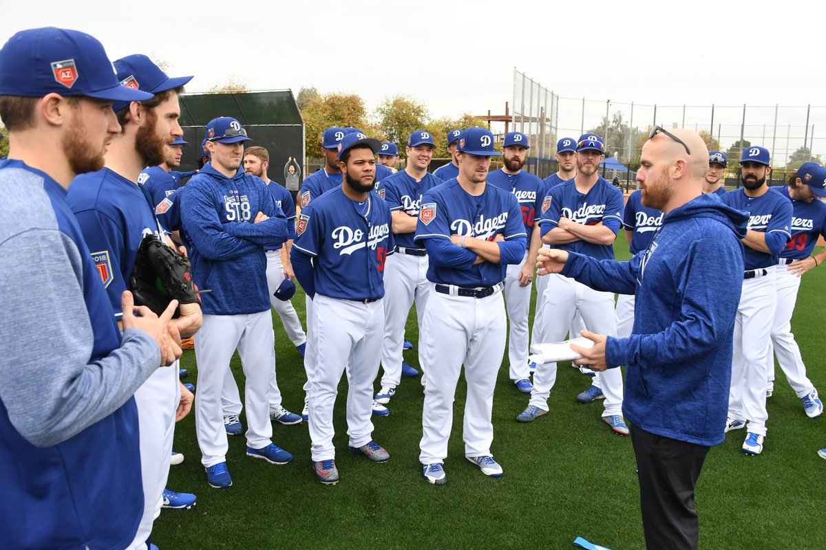 Dodgers pitchers and catchers