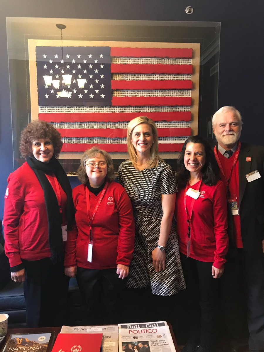 It was great to have the opportunity to meet with Jessica Hagens-Jordan in Representative @jimhimes' office & advocate for the important work of @SpecialOlympics!  Natasha shared how-through Special Olympics-she's made friends, got fit & traveled to Austria to compete! #SOHillDay https://t.co/Z5a2ZJx6K7