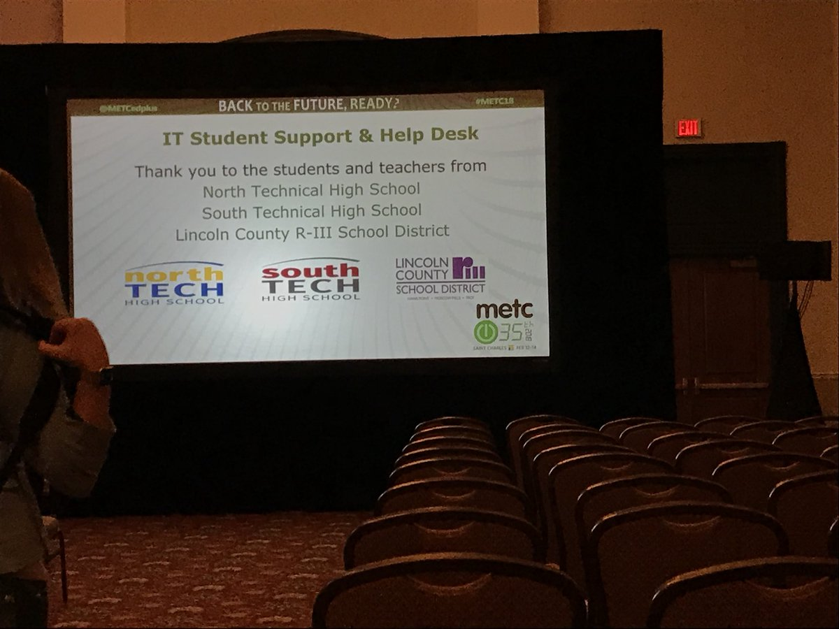 RT @cskiles80: Way to Go! @Linc_R3 students! Big shoutout during the closing of #metc18 #proudteacher #proud2br3 https://t.co/alnNjUQVJS