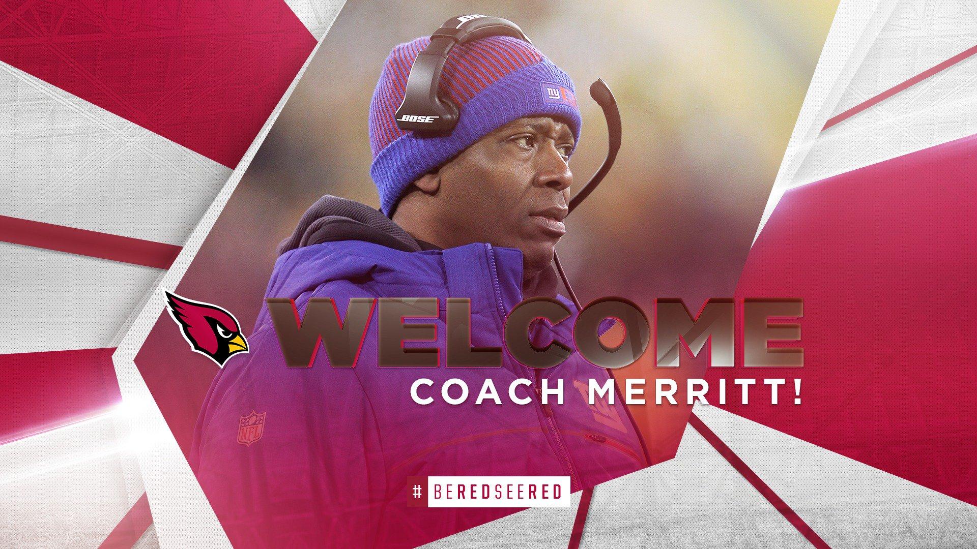 David Merritt is our new DBs coach. He played LB here from 1993-95. https://t.co/fNahGnEHn1