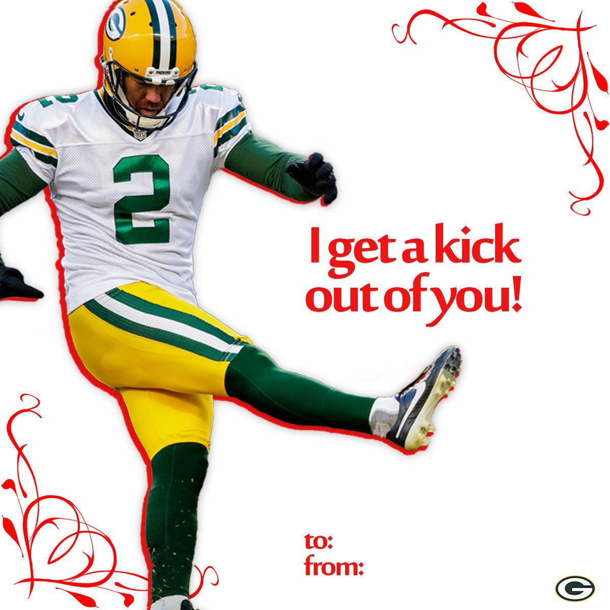 Who do you get a kick out of? ��  Send them @crosbykicks2's #ValentinesDay card! https://t.co/Z6rDVKirl2