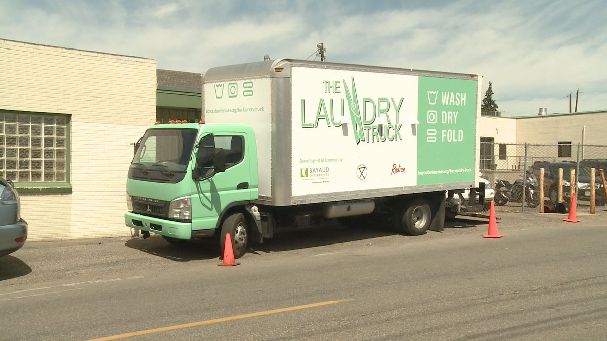 Mobile shower & laundry trucks (like this one in denver) will hit streets in may. they come courtesy of handful of local companies, organized by a ...