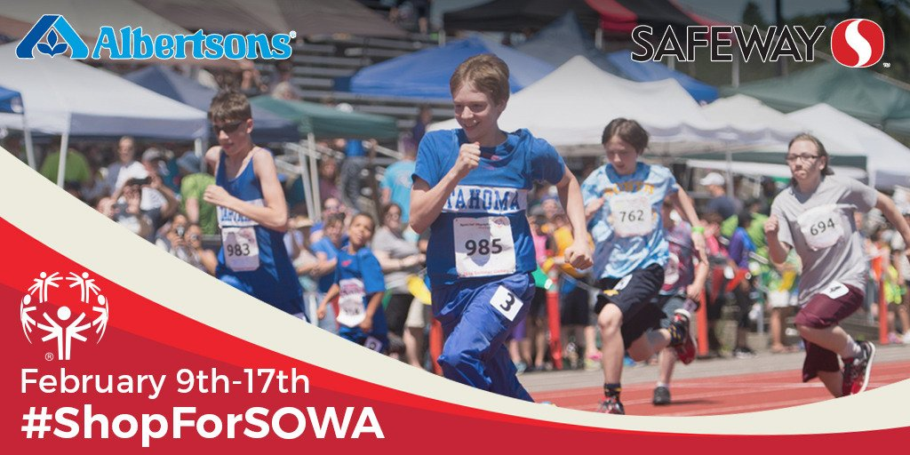 Send a Valentine to #TeamWA247 this week by shopping at your local @Safeway or @Albertsons: Now through February 17 you can make a donation at check-out to support our incredible athletes, so remember to #ShopForSOWA next time you need groceries! https://t.co/MFmEWs27Lf