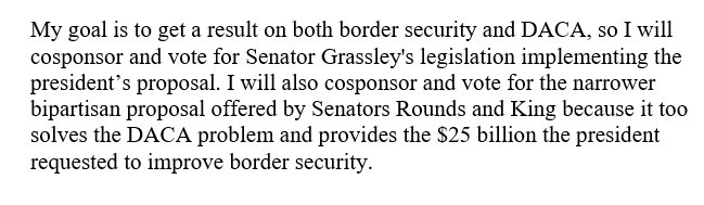 My statement on the Senate immigration debate: https://t.co/EDuEKiaVdi