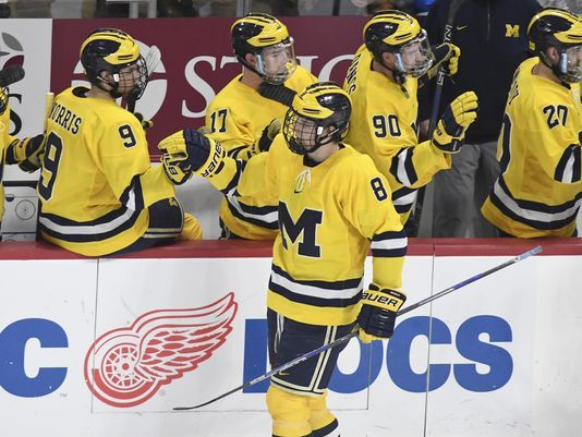Michigan standing tall as Big Ten hockey tourney nears