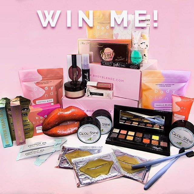 "Glam Karen 🎀 on Instagram: ""MASSIVE MAKE UP #GIVEAWAY! 🎁💄 💕  Win This Make Up Haul From @CocoShineau & @Body_Blendz  TO ENTER: 1: Tag 2 REAL friends in the comments!…"""