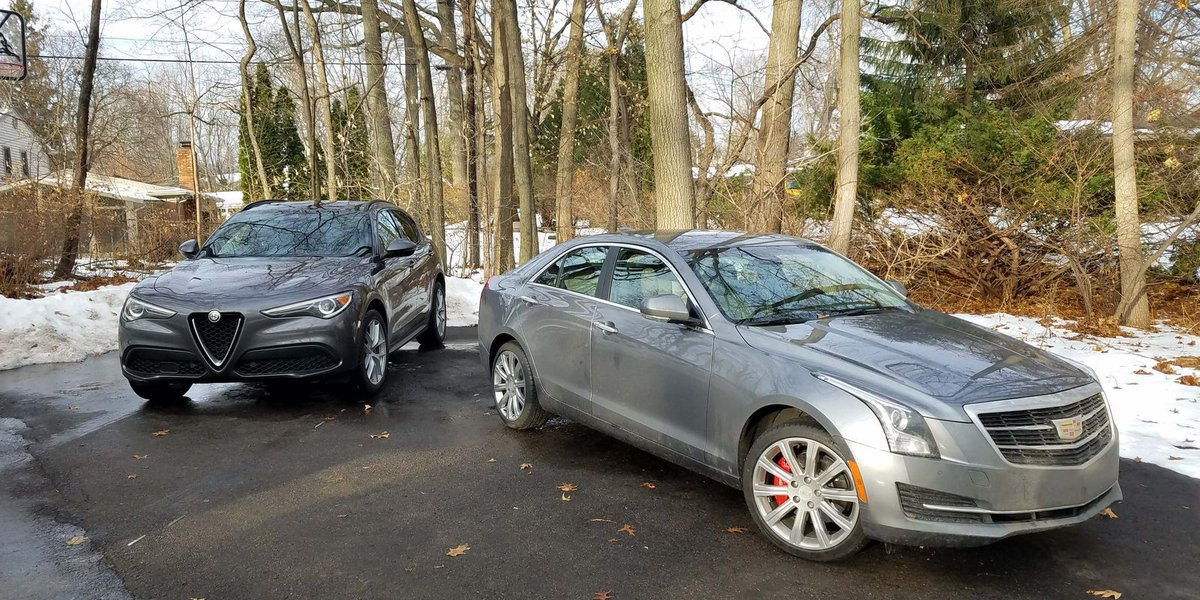 Alfa Stelvio SUV vs. Cadillac ATS