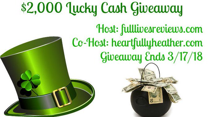 $2,000 Lucky Cash Giveaway!