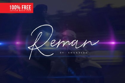 Reman Free Handwriting Script Fonts freebies design SocialMedia