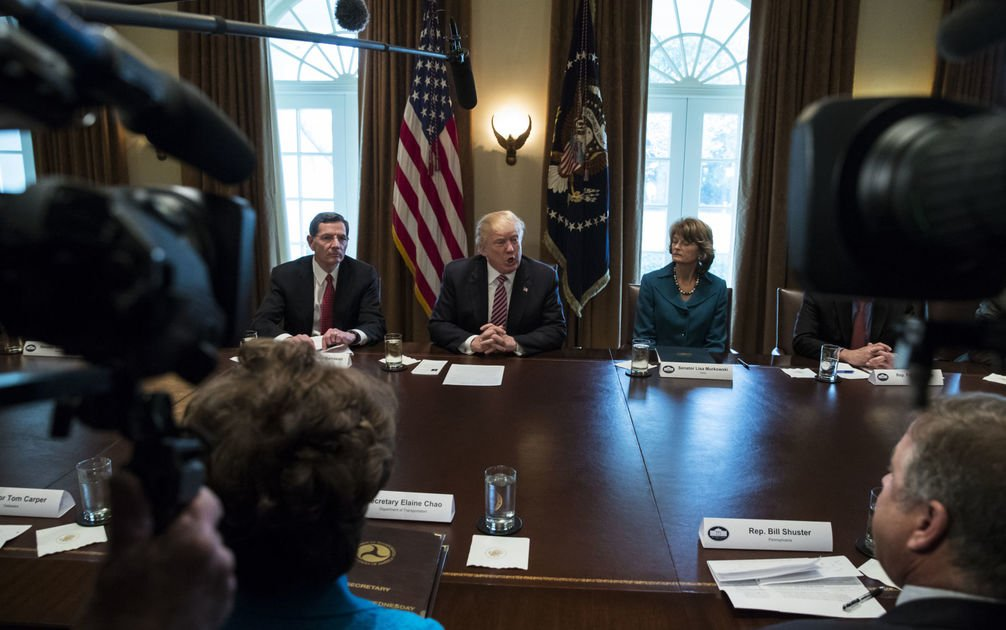 Trump shows willingness to raise fuel taxes