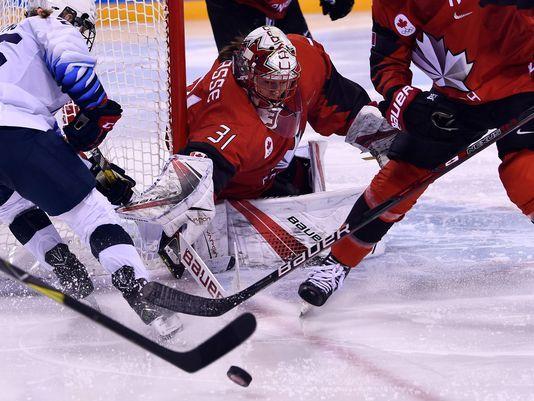 Marian High grad Lacasse backstops Canada to hockey win