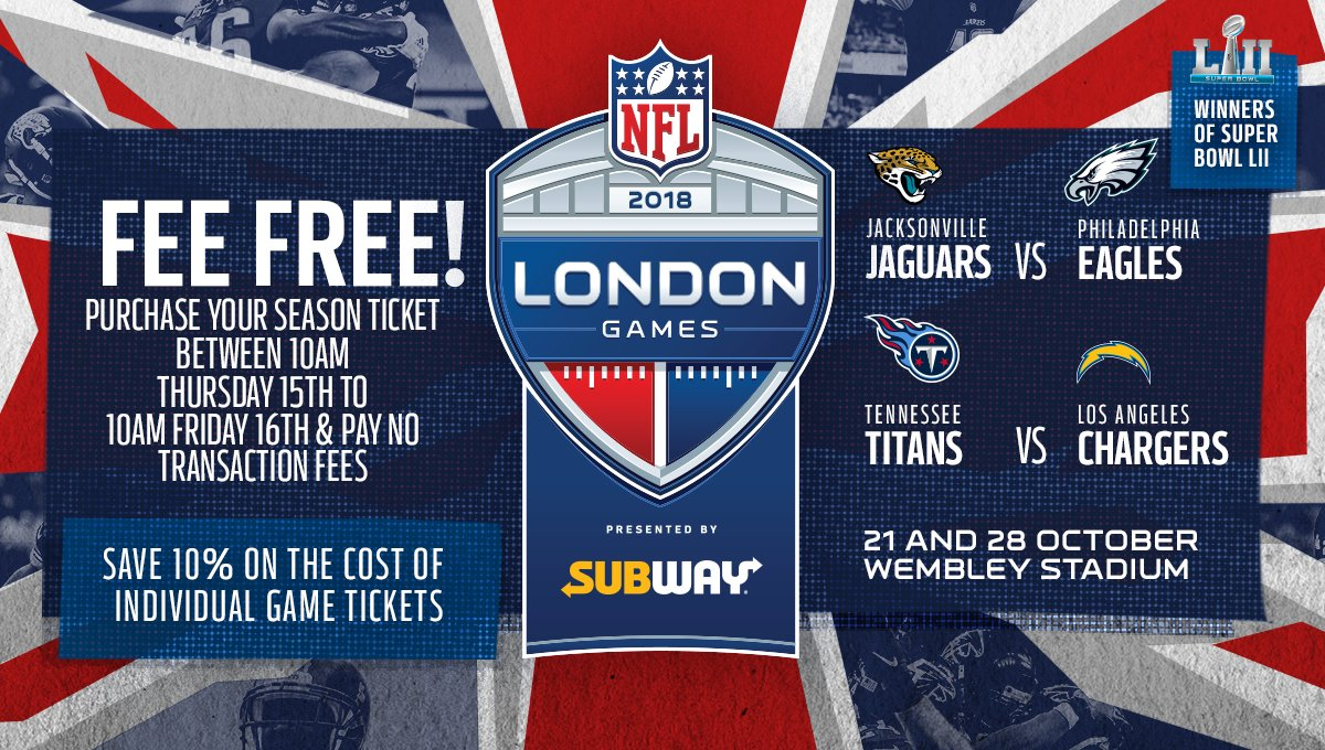 �� FEE FREE! ��  Buy your Wembley season ticket from 10am today & pay NO transaction fees! ��  https://t.co/DLYEkPCF5S https://t.co/qIo9c6nikN