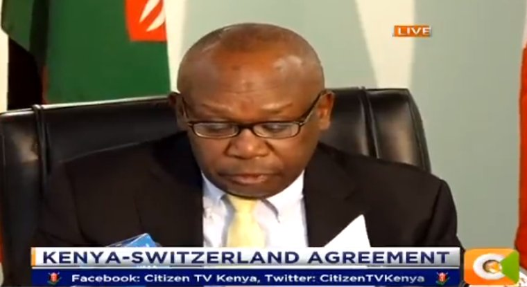 Kenya And Switzerland Sign Mutual Legal Assistance Agreement
