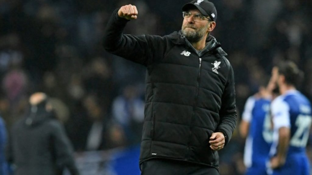 Klopp hails 'perfect' Liverpool Champions League display