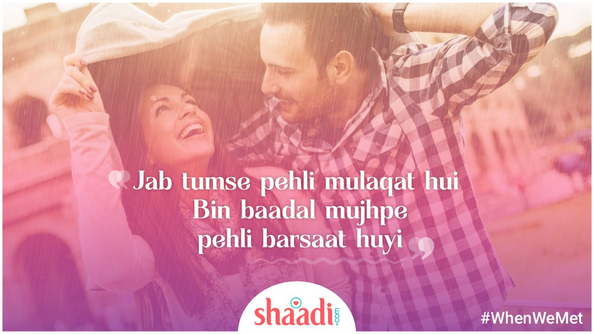 test Twitter Media - You can call me #rain for all I seem to do is fall for you!  #WhenWeMet #Shayari https://t.co/ZSIQZadGVs
