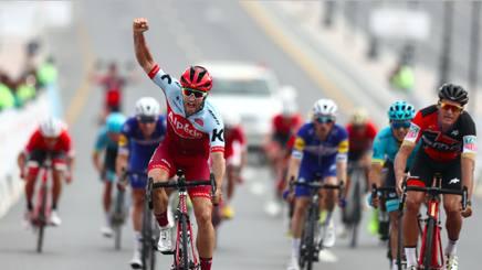 Tour of Oman, ad Haas tappa e maglia
