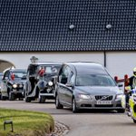 Hearse with Denmark prince leaves for Copenhagen chapel