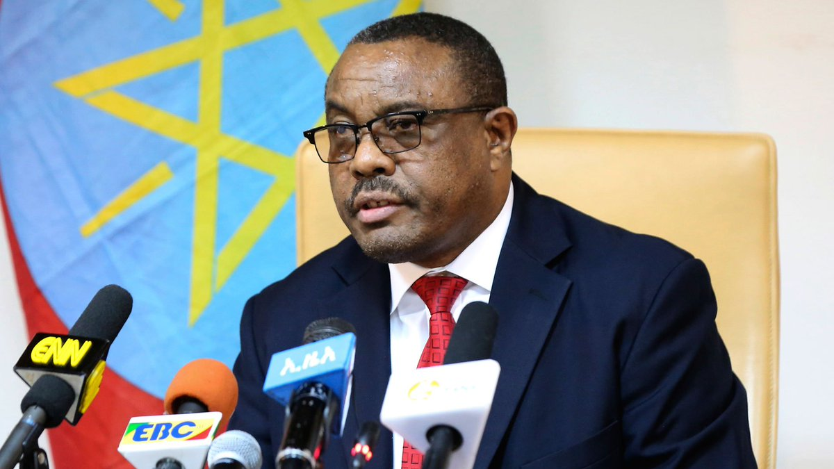 Ethiopia's prime minister submits resignation after protests
