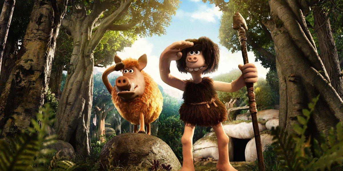 Review: Delightful 'Early Man' mixes cavemen, soccer