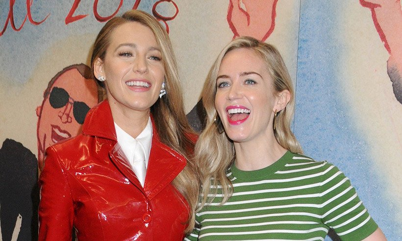 Emily Blunt and Blake Lively showcased stunning side swept hairstyles at NYFW!