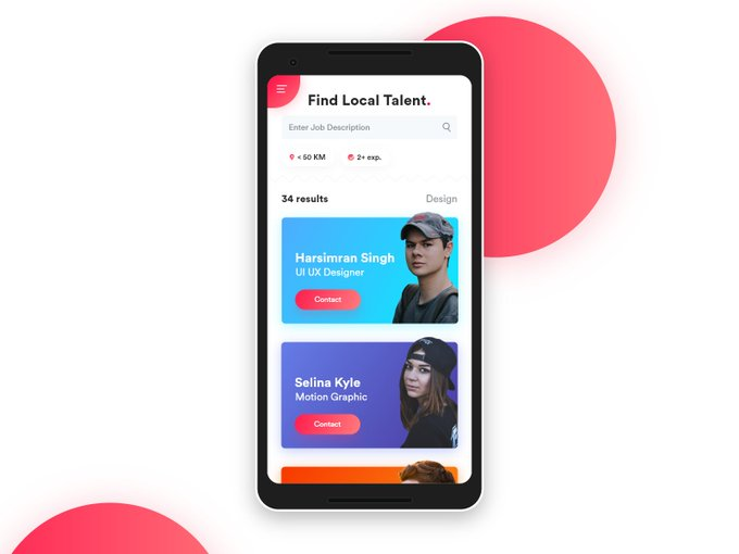 Local Talent Search Concept by iammrblade freebie