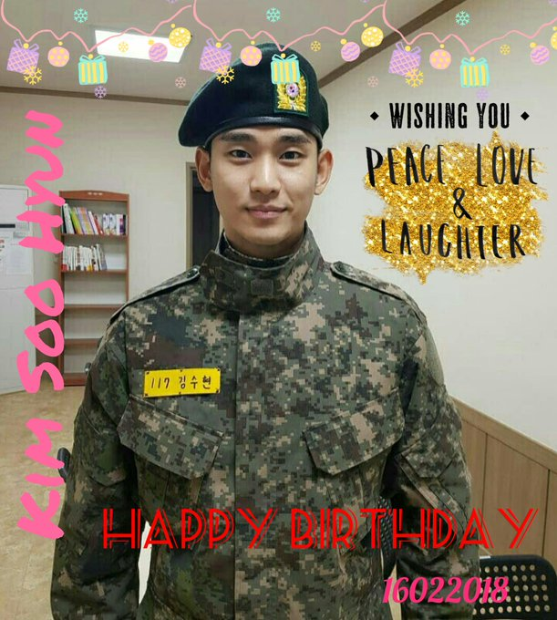 Happy Birthday Kim Soo Hyun    wish you all the best